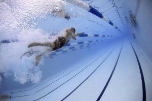 Nauka pływania na nowy rok