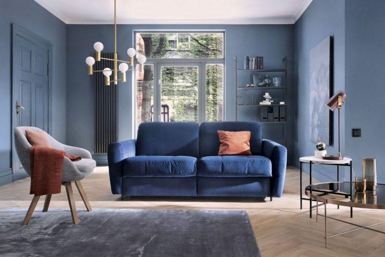 Pantone Classic Blue w aranżacji wnętrz