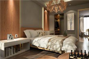 Sypialnia z pawlaczem