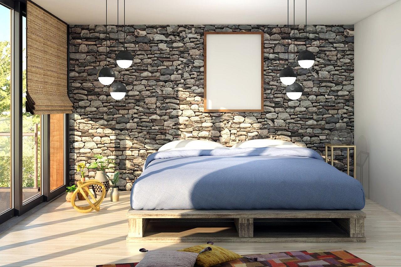 Sypialnia loftowa